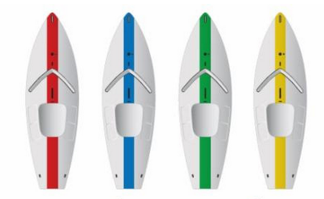 Sunfish hull colors 2014