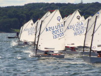 The Optimist Dinghy – sailed by kids since 1947