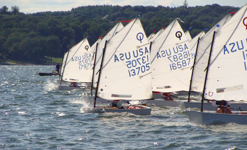 The Optimist Dinghy Sailed By Kids Since 1947