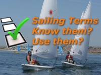 Sailboat Racing Terms – Survey