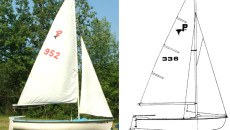 Used: MFG Pintail 14′ Sailboat $350 – Sold
