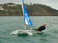 Dave Birch, a Laser Pico, and the English Channel