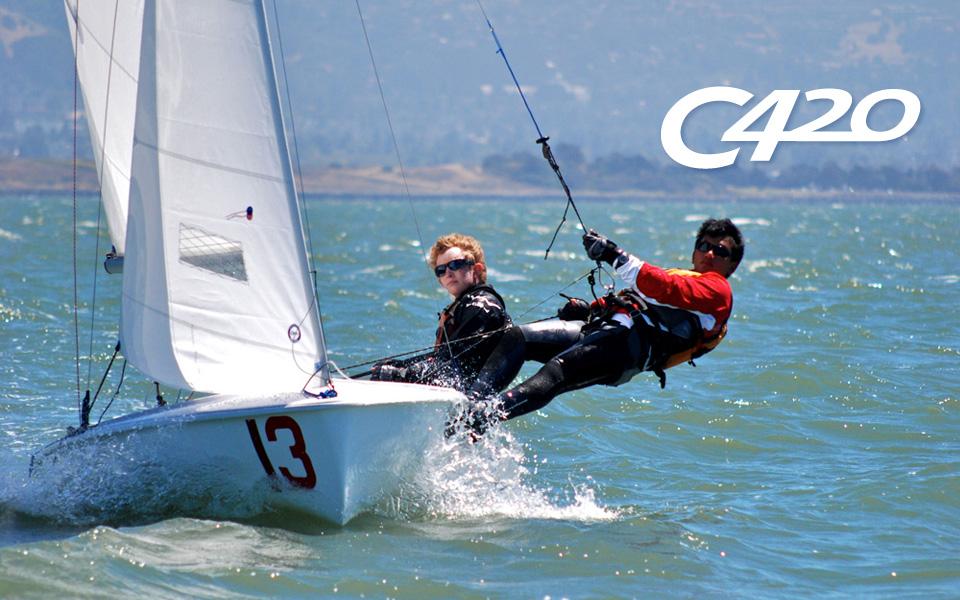 zim pro club 420 shoreline sailboats