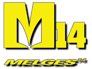 Logo of Melges 14 sailboat