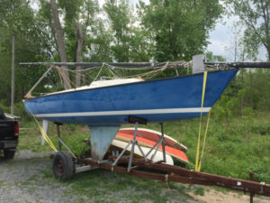 1978 Sonar Sailboat