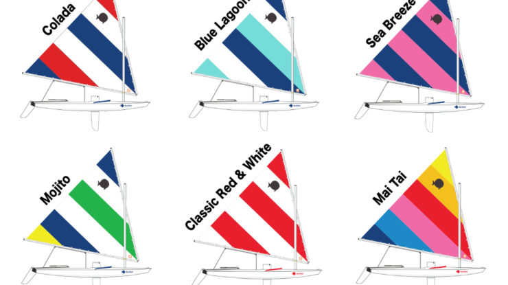 The New 2017 Sunfish Colors