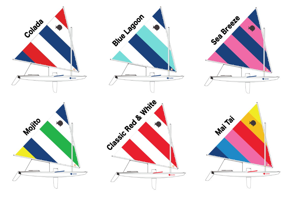 2017 Sunfish Sail Colors