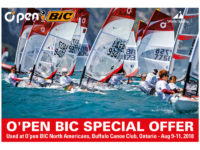Special Offer – 2018 NA Regatta O'pen Bics