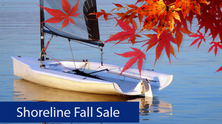 Fall Sale –  Big Savings on New Sailboats!